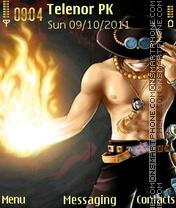 Capture d'écran Ace thème