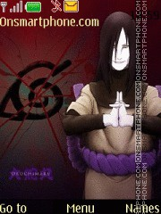 Orochimaru 01 theme screenshot