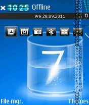 Think Seven theme screenshot