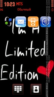 Im Limited theme screenshot