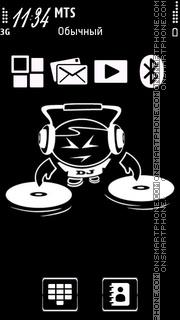 Dj Music 02 tema screenshot