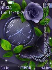 Butterfly tema screenshot