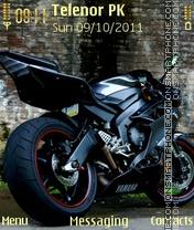 Скриншот темы Yamaha R1