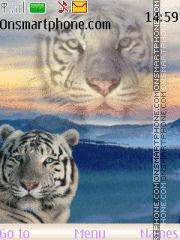Magic tiger theme screenshot