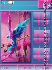 Color Bird es el tema de pantalla