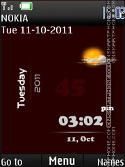 Hd Brown Iphone theme screenshot