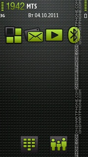 Official Android theme screenshot