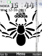 Скриншот темы Adidas Animals