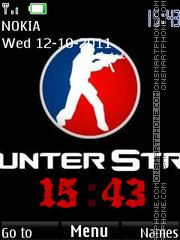 Скриншот темы Counter strike 1.6