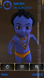 Little Krishna es el tema de pantalla