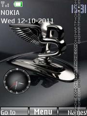 Bentley Clock theme screenshot