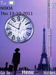 Paris tema screenshot