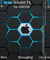 Apple for 5800 and n96 theme screenshot