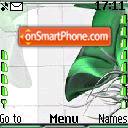 Green Flower es el tema de pantalla