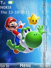 Mario Animation 01 theme screenshot