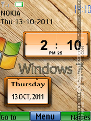 Windows Digital theme screenshot