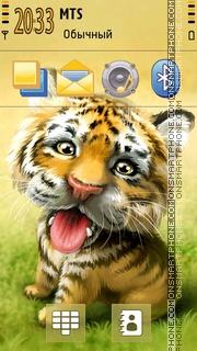 My Tiger 5th theme screenshot