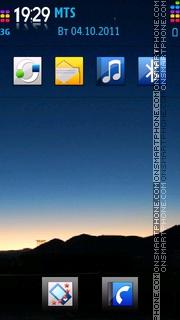 Night View 01 theme screenshot