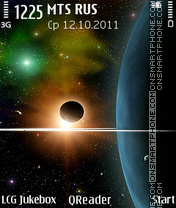 Space-Collage theme screenshot
