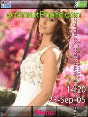 Ileana Dcruz theme screenshot