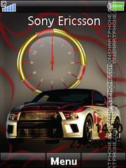 Mustang Clock 02 es el tema de pantalla