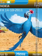 Скриншот темы Angry Birds Rio 01