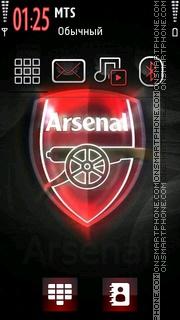 Arsenal 2018 theme screenshot