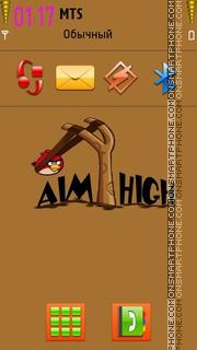 Aim High 01 theme screenshot