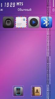 Nokia Mood theme screenshot
