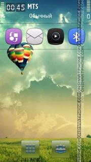Air Balloon Nature theme screenshot