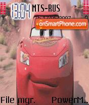 Disneys Cars Animated theme screenshot