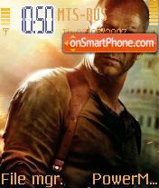 Die Hard 4 theme screenshot