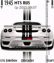 Ferrari-F430 theme screenshot