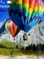 Balloons theme screenshot