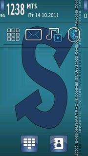 Letter S 08 theme screenshot