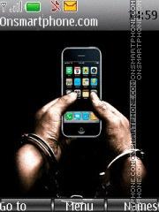 Funny Iphone es el tema de pantalla