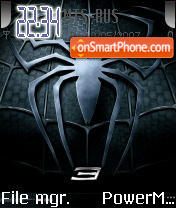 New Spider Man theme screenshot
