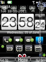 Iphone flash tema screenshot