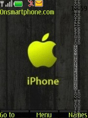 Apple Green tema screenshot