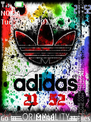 Adidas 007 tema screenshot