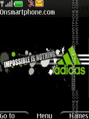 Adidas 2 theme screenshot