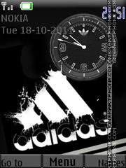 Adidas tema screenshot