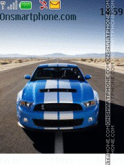Mustang shelby gt500 theme screenshot