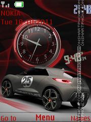 Renault captur theme screenshot