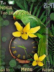The tropical theme screenshot