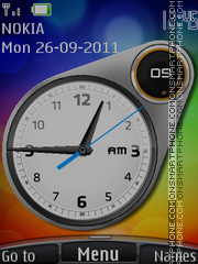 Analog Clock 05 theme screenshot