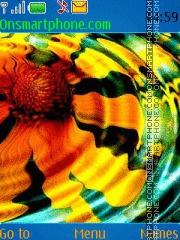 Abstract Flower 01 es el tema de pantalla