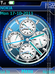 World Clock 02 theme screenshot