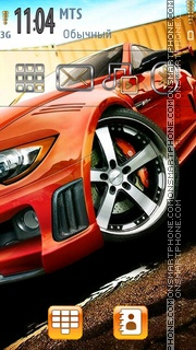 Bmw 05 theme screenshot
