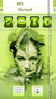 Surreal Girl N8 es el tema de pantalla